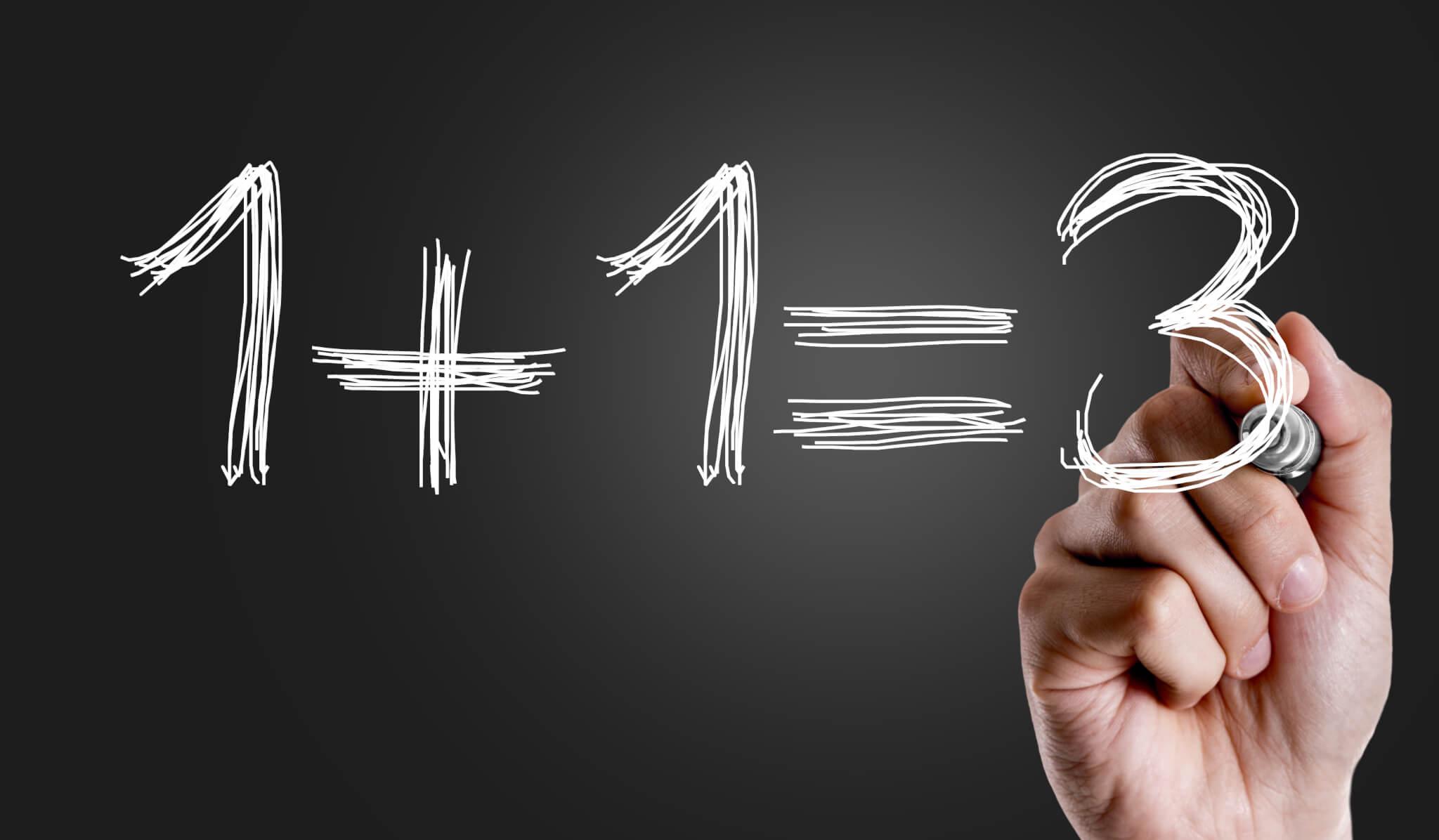 Stabsmetodiken skapar synergieffekter i vardagen: 1+1=3